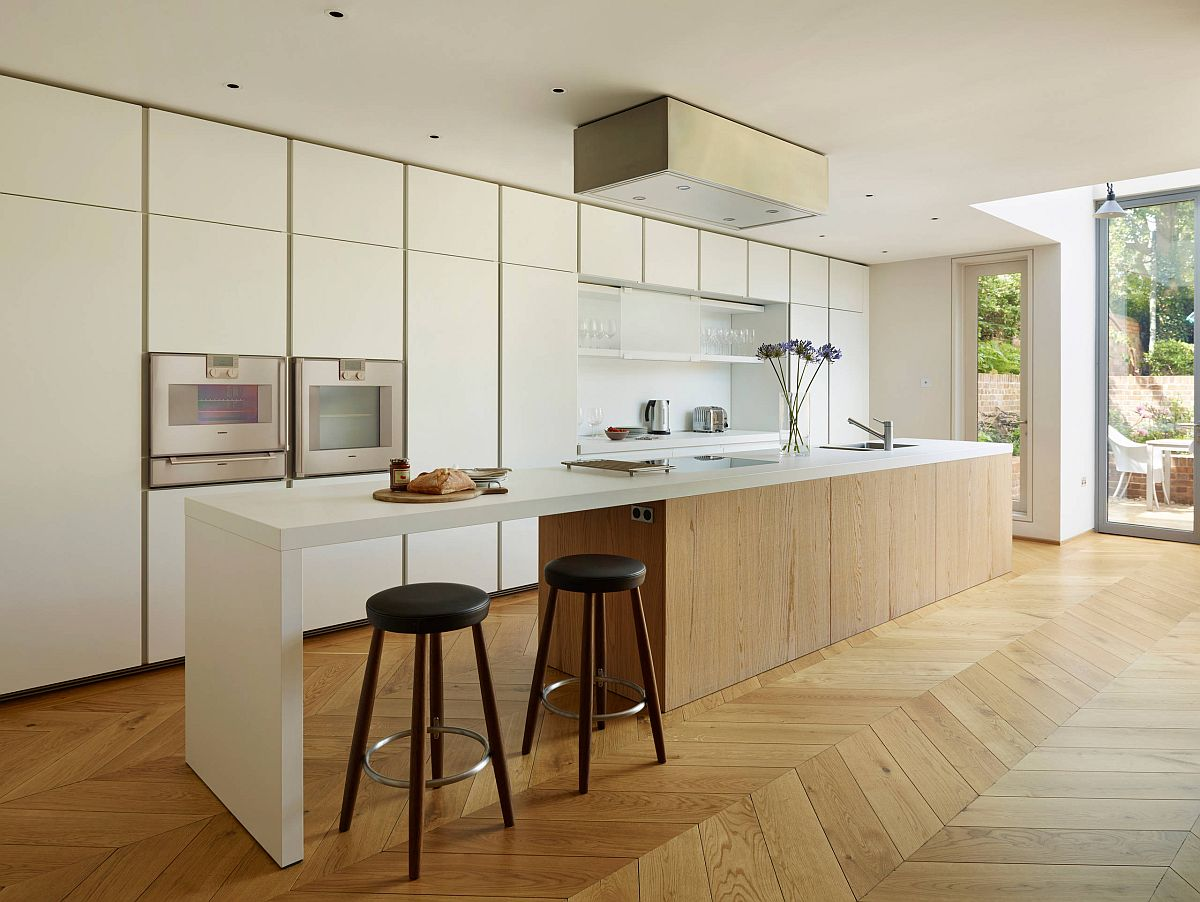 Sàn nhà bếp thịnh hành nhất năm 2020: Sàn gỗ ở khắp mọi nơi! - Ảnh 9.