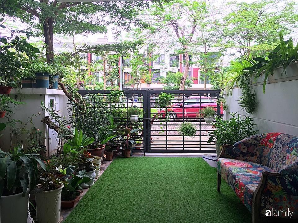 Không gian sống ngát hương bên khu vườn ngập tràn nắng ấm và rực rỡ sắc hoa ở Hà Nội - Ảnh 3.