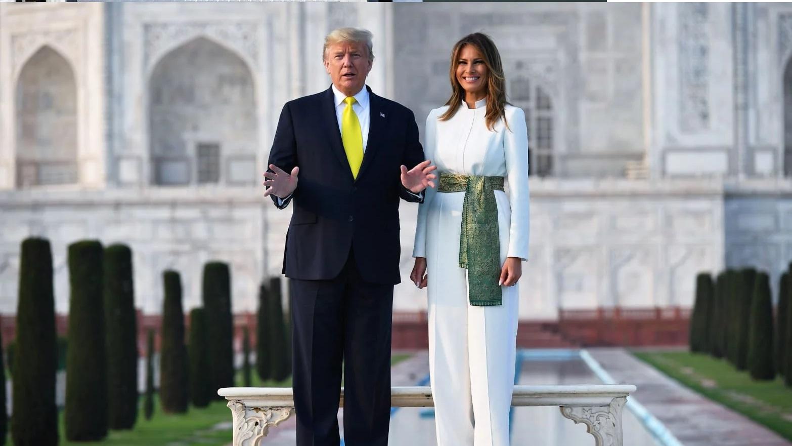 Bà Melania Trump khí chất ngút ngàn khi diện jumpsuit trắng nhưng ý nghĩa thú vị sau đó mới càng khiến dân tình trầm trồ - Ảnh 3.