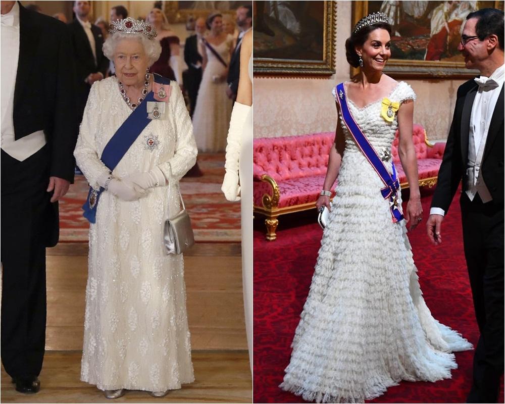 """Mặc đẹp đỉnh cao còn khéo """"nịnh"""" Nữ hoàng, bảo sao Công nương Kate luôn được dân tình yêu quý hết mực - Ảnh 3."""