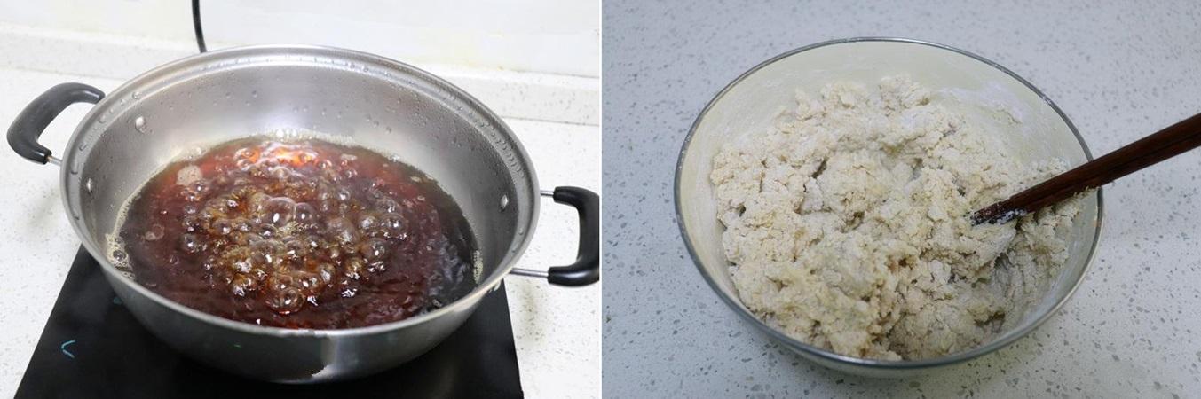 Bánh nếp tẩm vừng chiên nóng hổi ngon mê mẩn - Ảnh 1.