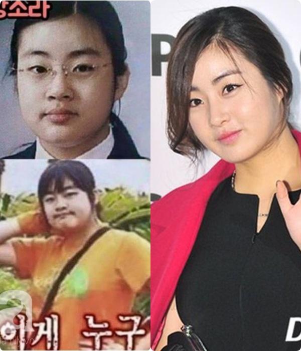 """Kang Sora giảm 20kg từ """"cô nàng đô con"""" mặc váy chật đến bục chỉ ngay trên thảm đỏ, lột xác thành mỹ nhân có đôi chân đẹp nhất xứ Hàn - Ảnh 1."""