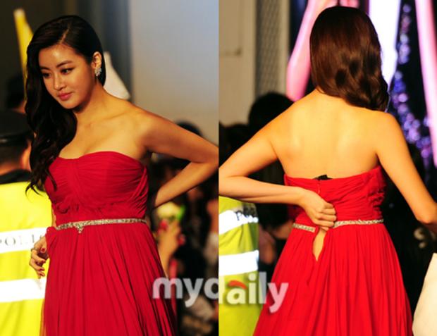 """Kang Sora giảm 20kg từ """"cô nàng đô con"""" mặc váy chật đến bục chỉ ngay trên thảm đỏ, lột xác thành mỹ nhân có đôi chân đẹp nhất xứ Hàn - Ảnh 3."""