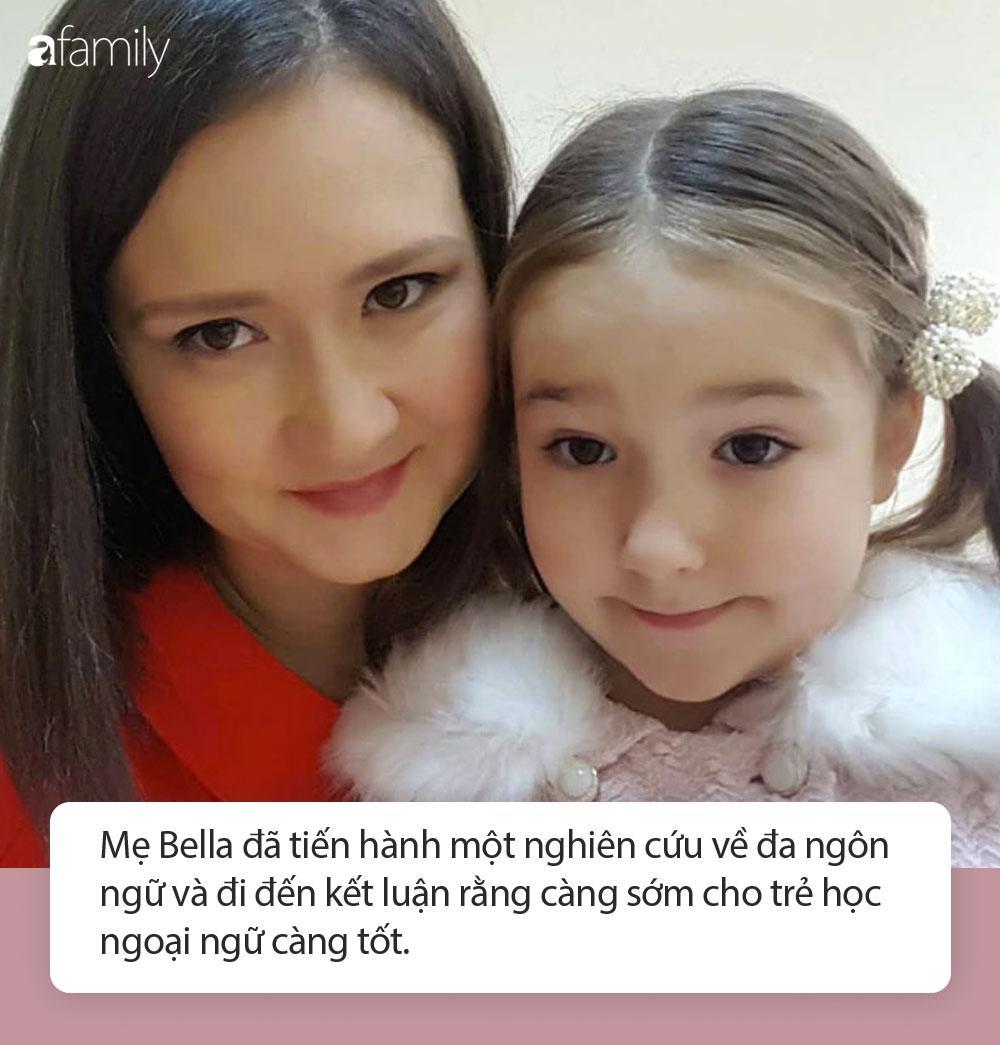 Bé gái 7 tuổi nói thành thạo 8 ngoại ngữ, tất cả nhờ cách dạy con tuyệt vời của người mẹ - Ảnh 4.