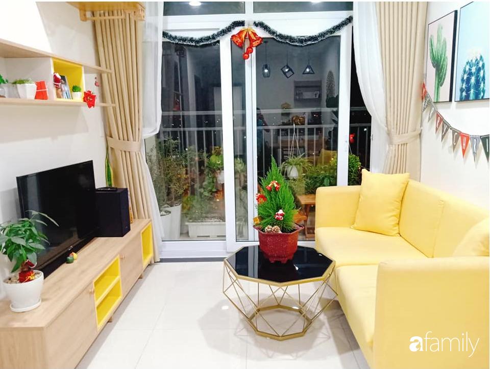 Sở hữu căn hộ 60m2, vợ đảm Đắk Lắk thiết kế theo tông màu vàng đẹp mê ly với chi phí 100 triệu  - Ảnh 3.