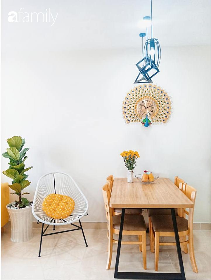 Sở hữu căn hộ 60m2, vợ đảm Đắk Lắk thiết kế theo tông màu vàng đẹp mê ly với chi phí 100 triệu  - Ảnh 9.