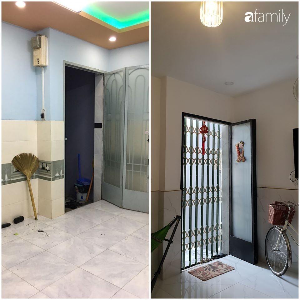 Ngôi nhà 90m² ở Hóc Môn, Sài Gòn được cặp vợ chồng trẻ cải tạo lại mọi ngóc ngách với chi phí hơn 300 triệu đồng - Ảnh 4.
