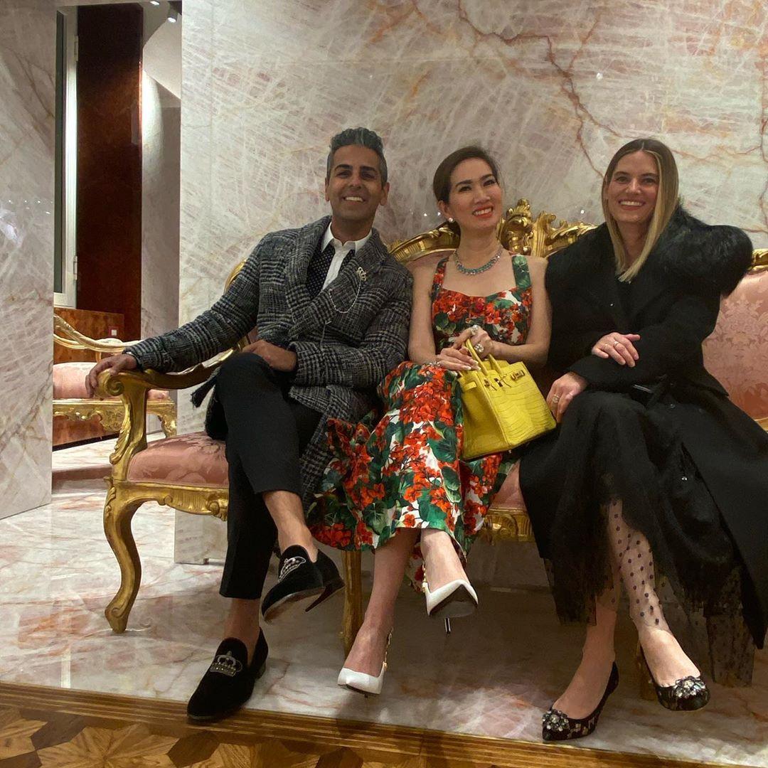 Sau doanh nhân Thủy Tiên lại đến nữ tỷ phú người Việt khiến dân tình bấn loạn khi lên đồ sang chảnh dự Fashion week - Ảnh 5.