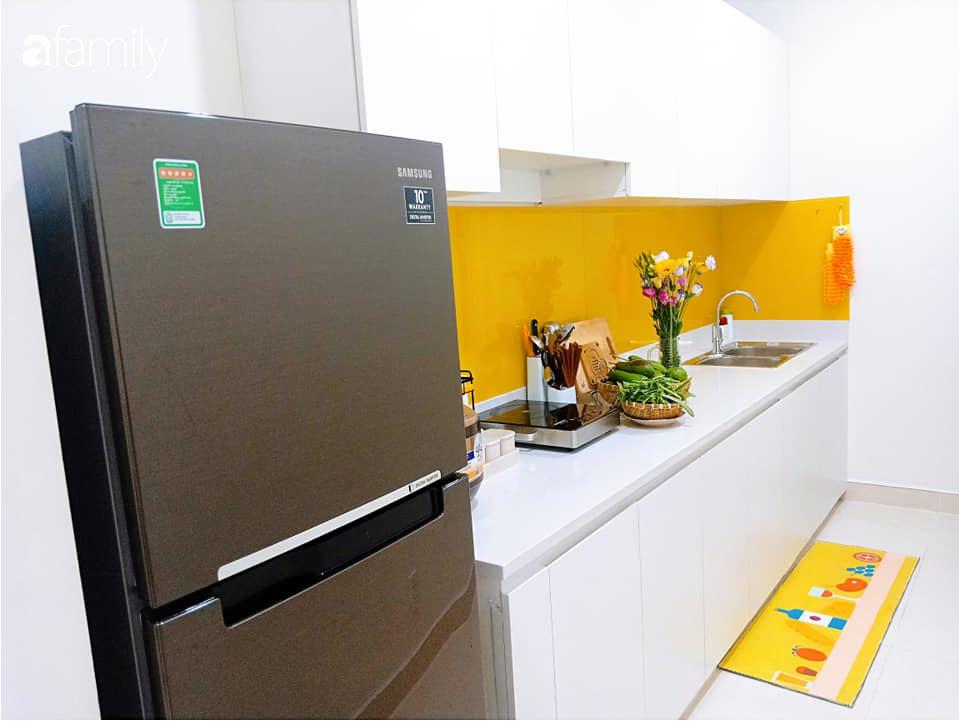 Sở hữu căn hộ 60m2, vợ đảm Đắk Lắk thiết kế theo tông màu vàng đẹp mê ly với chi phí 100 triệu  - Ảnh 8.