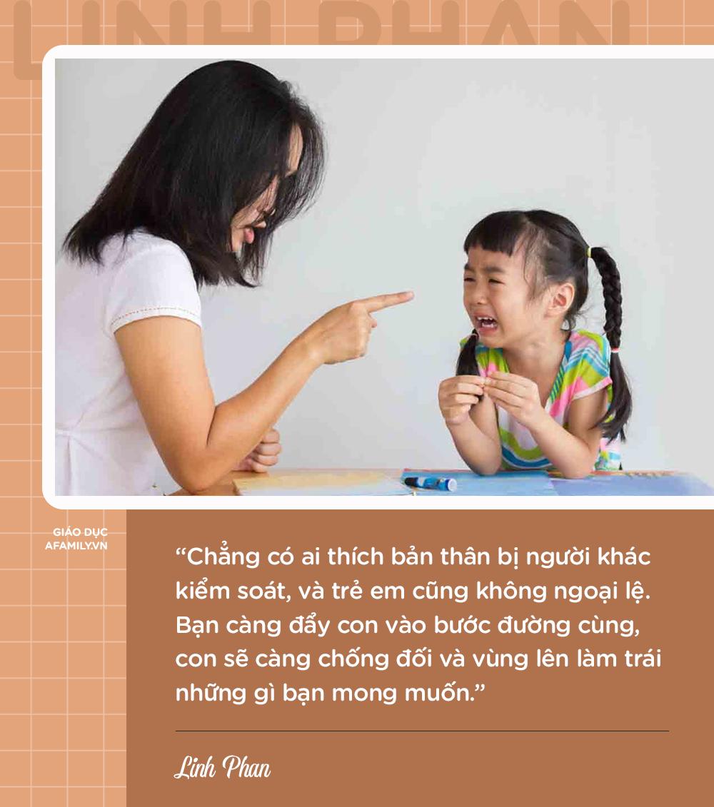 Parent coach Linh Phan chỉ ra 8 nguyên nhân khiến con bướng bỉnh và cách để trẻ vâng lời chỉ sau 1 lần nhắc nhở - Ảnh 3.