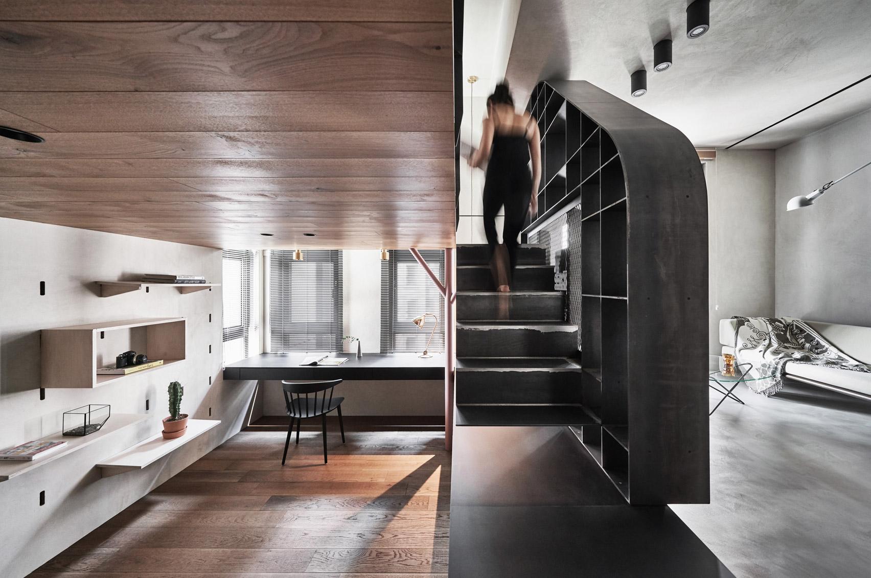 Bổ sung nội thất đa chức năng cho căn hộ xinh xắn tại Đài Bắc (Trung Quốc) - Ảnh 1.