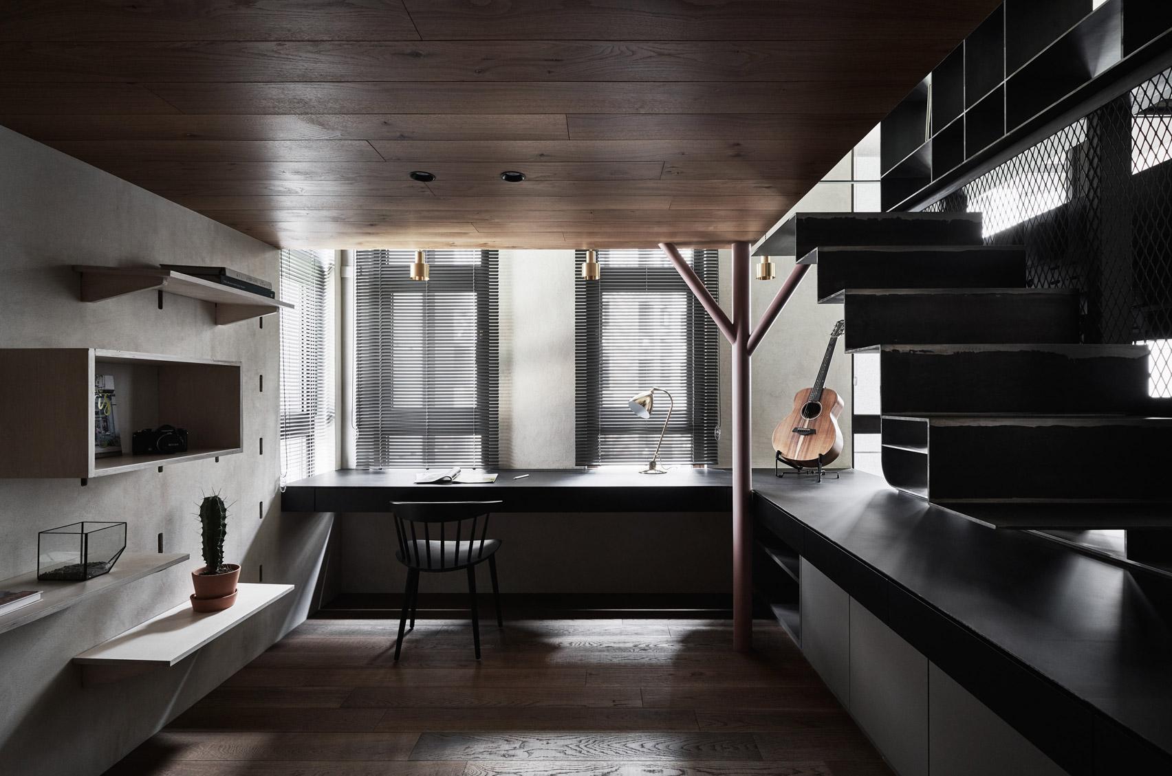 Bổ sung nội thất đa chức năng cho căn hộ xinh xắn tại Đài Bắc (Trung Quốc) - Ảnh 3.
