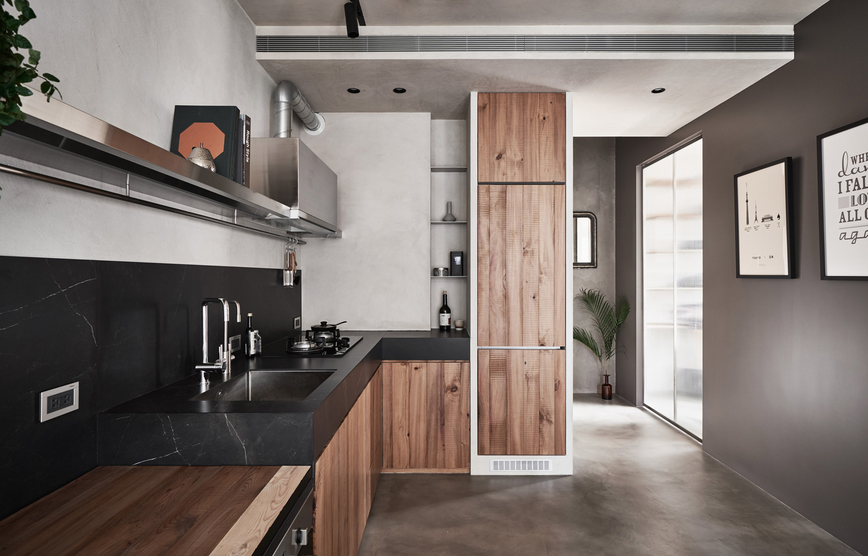 Bổ sung nội thất đa chức năng cho căn hộ xinh xắn tại Đài Bắc (Trung Quốc) - Ảnh 6.