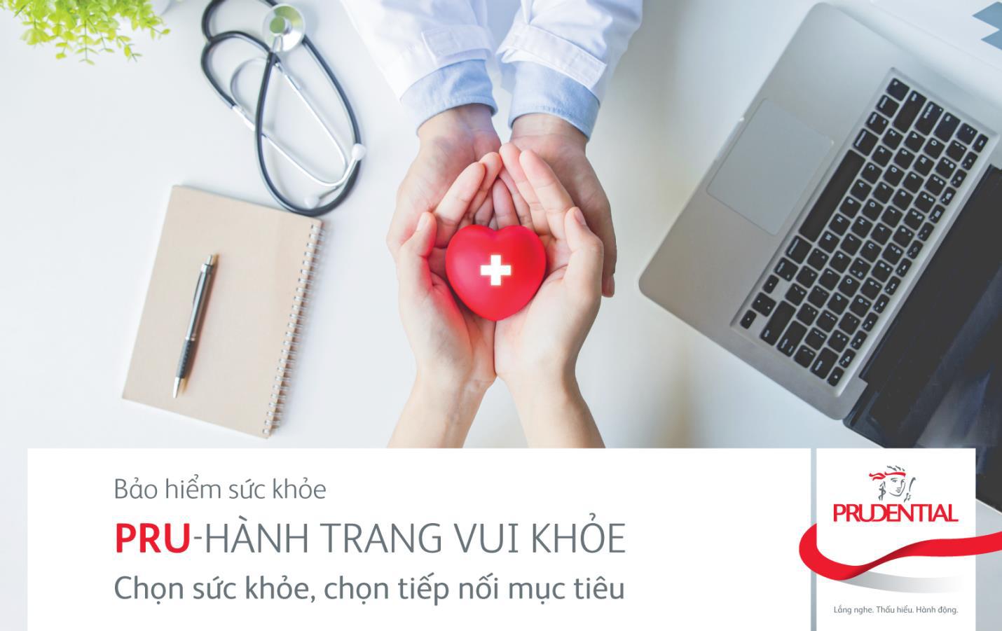Prudential lần đầu giới thiệu giải pháp bảo hiểm chăm sóc sức khỏe ưu việt - Ảnh 1.