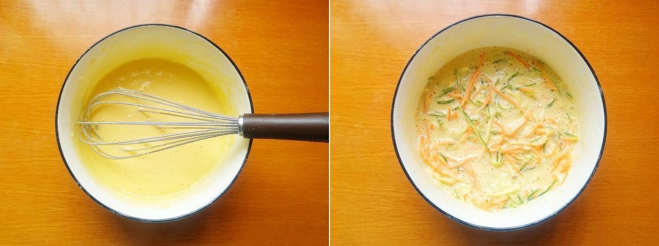 Bánh trứng rau củ ngon ngon cho bữa sáng - Ảnh 2.