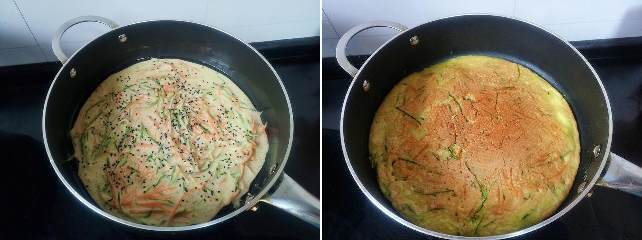 Bánh trứng rau củ ngon ngon cho bữa sáng - Ảnh 3.
