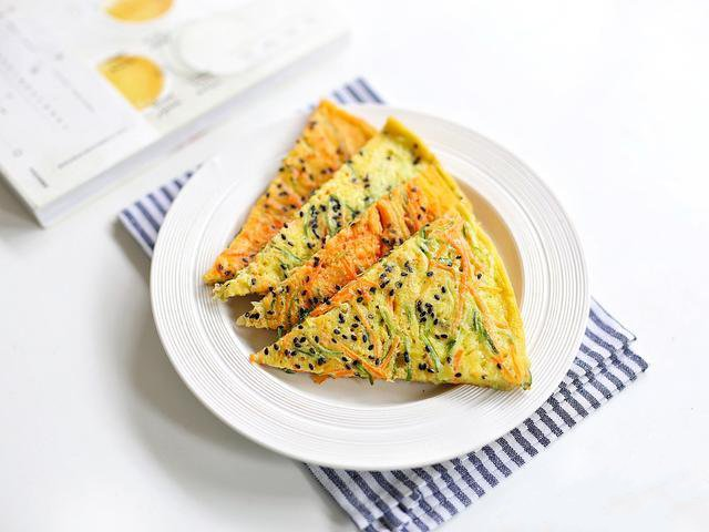 Bánh trứng rau củ ngon ngon cho bữa sáng - Ảnh 4.