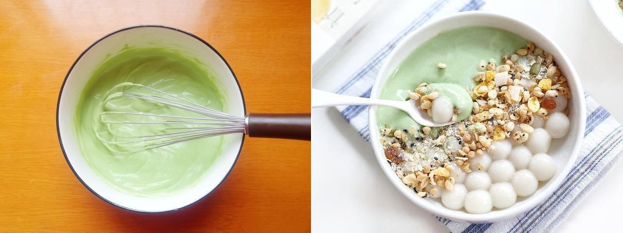 Bữa trưa nhẹ bụng với món sữa chua trân châu cực ngon cực lạ - Ảnh 3.