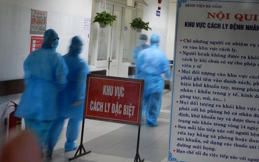Đà Nẵng đang theo dõi y tế 435 trường hợp đi từ vùng dịch về tại các khu cách ly tập trung