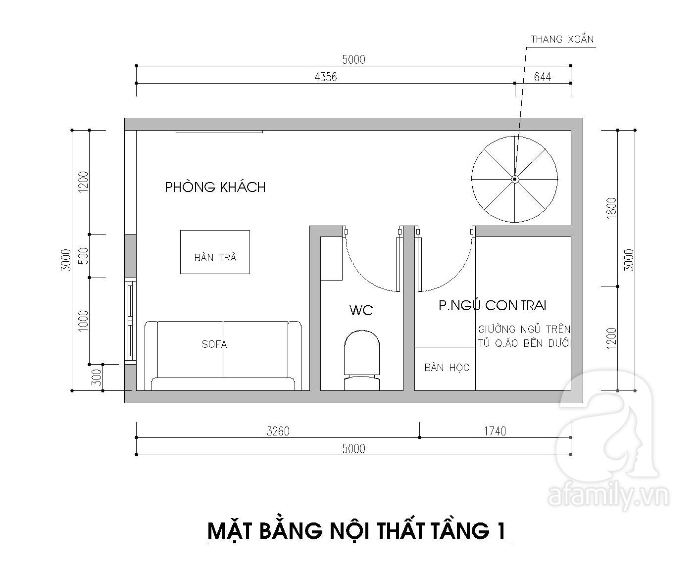 Tư vấn thiết kế căn nhà nhỏ 15m2 cho gia đình 3 thế hệ với chi phí 100 triệu đồng - Ảnh 2.