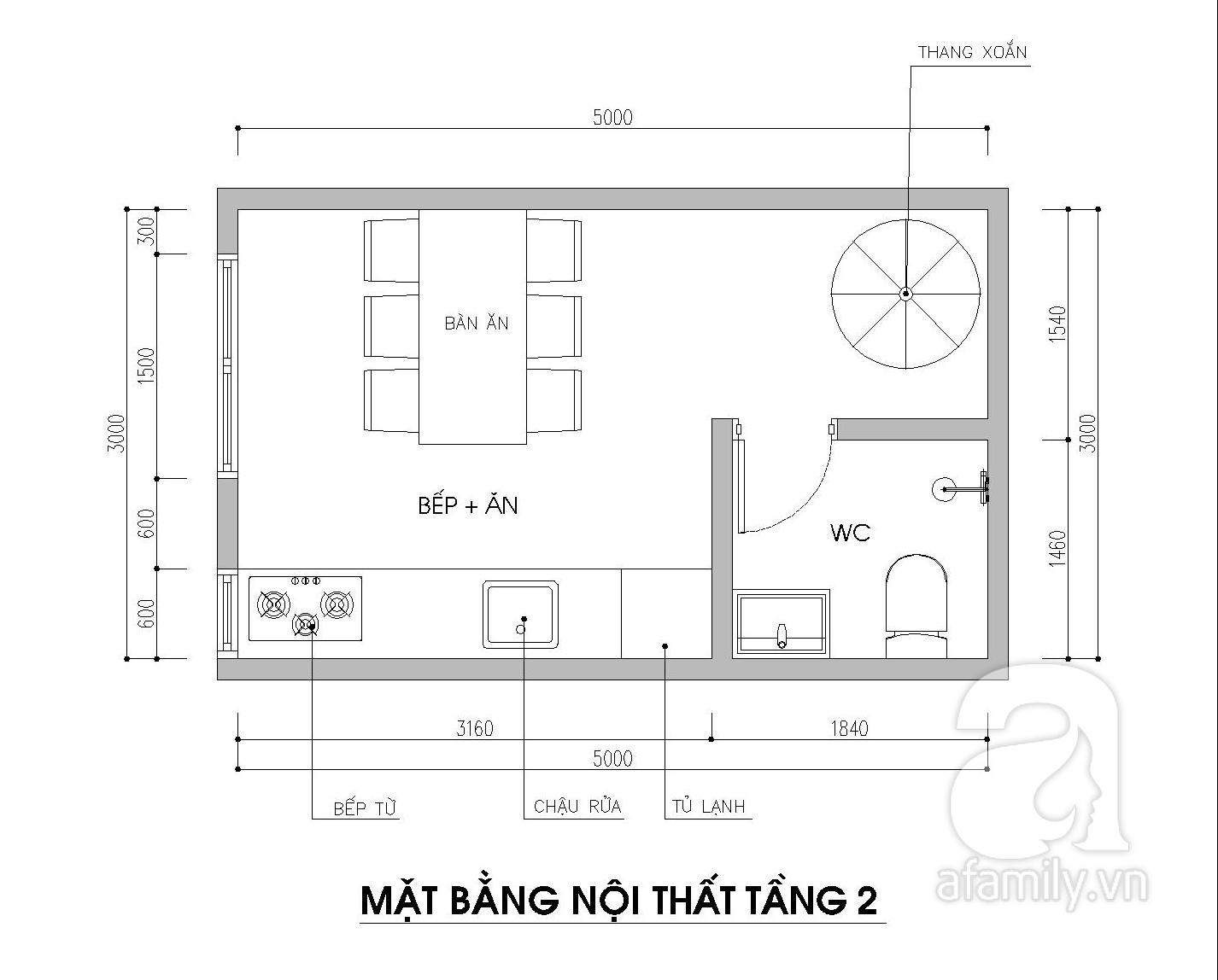 Tư vấn thiết kế căn nhà nhỏ 15m2 cho gia đình 3 thế hệ với chi phí 100 triệu đồng - Ảnh 4.