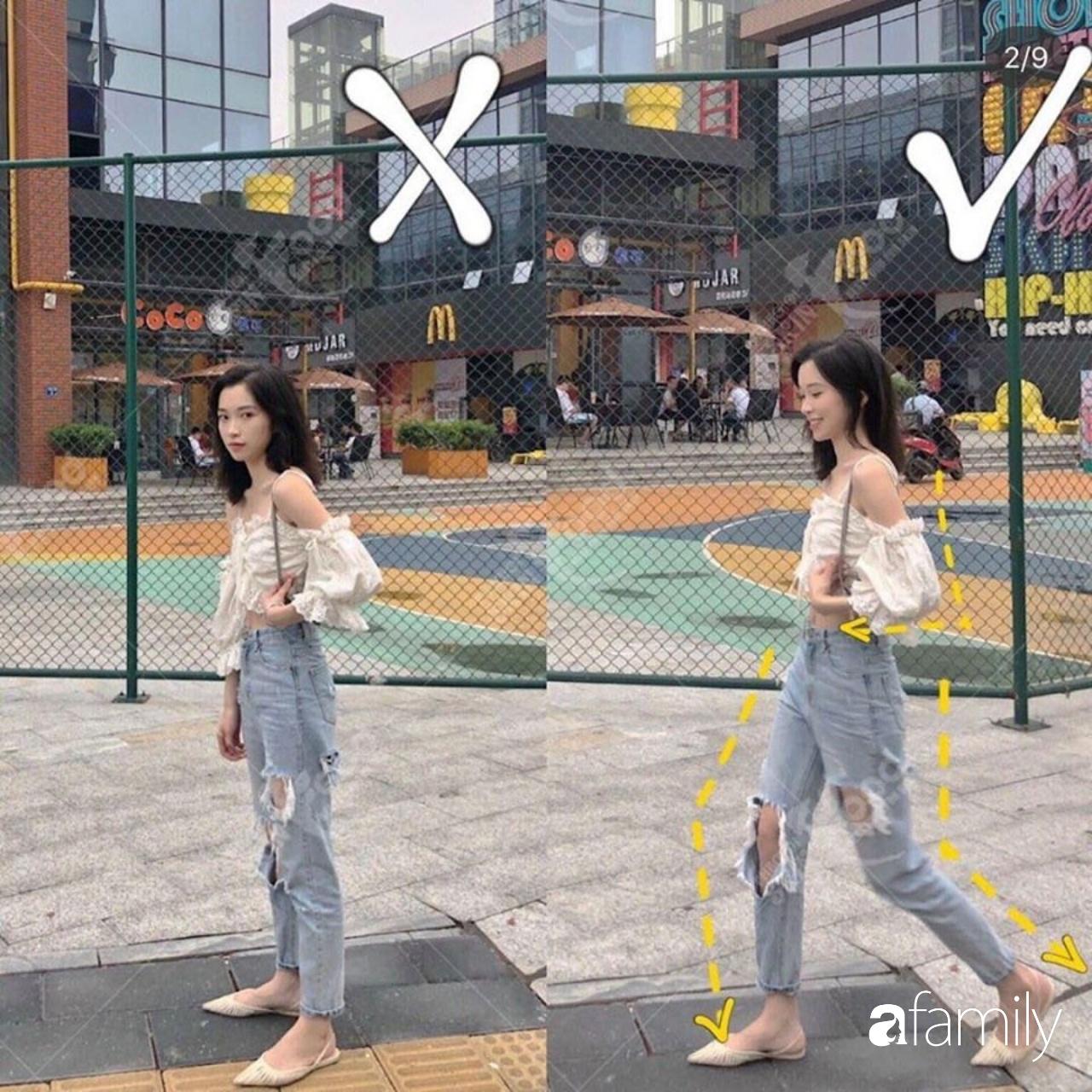 """Để chụp ảnh street style đẹp lung linh thì cần nắm 8 tuyệt kỹ tạo dáng giúp chân dài, dáng thon lại """"chanh xả"""" xuất sắc - Ảnh 4."""
