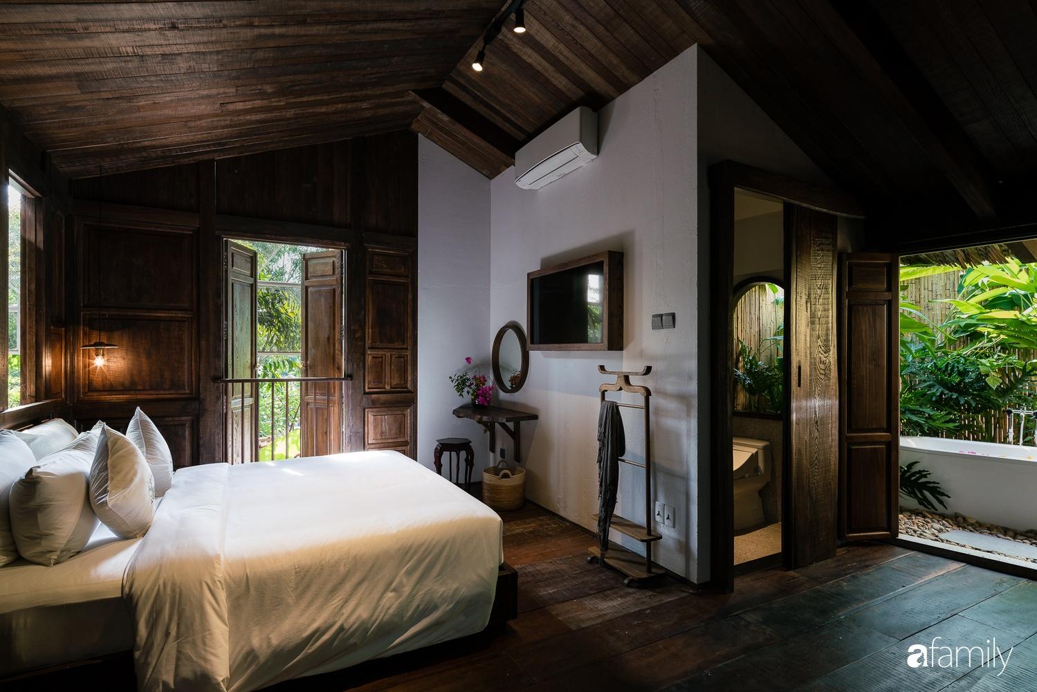 Ngôi nhà gỗ với thiết kế giống tổ chim đẹp như resort nghỉ dưỡng đậm chất thơ trong lòng Sài Gòn - Ảnh 18.
