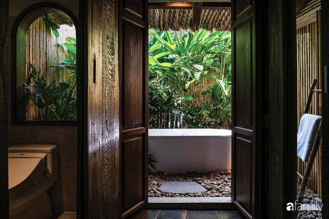 Ngôi nhà gỗ với thiết kế giống tổ chim đẹp như resort nghỉ dưỡng đậm chất thơ trong lòng Sài Gòn - Ảnh 17.
