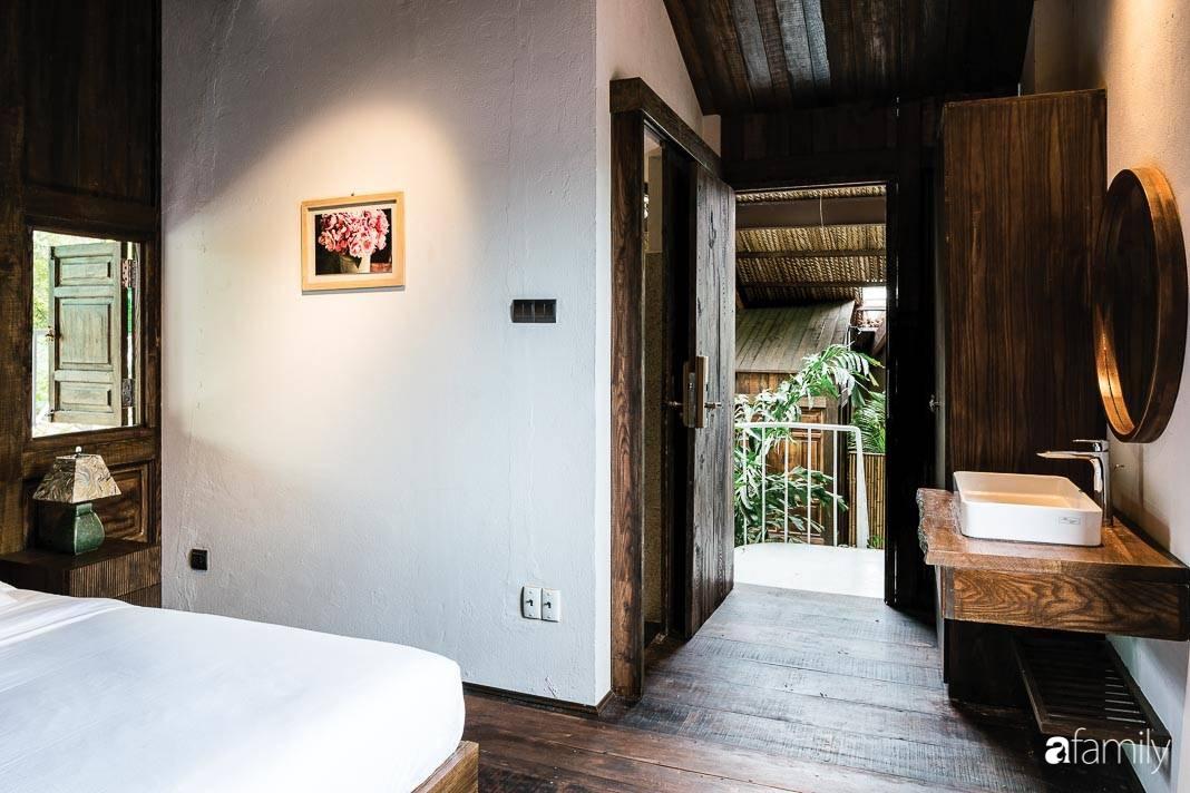 Ngôi nhà gỗ với thiết kế giống tổ chim đẹp như resort nghỉ dưỡng đậm chất thơ trong lòng Sài Gòn - Ảnh 16.