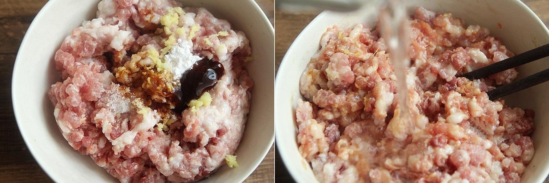 Mềm ngon sần sật món thịt băm hấp trứng nấm - Ảnh 2.
