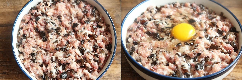 Mềm ngon sần sật món thịt băm hấp trứng nấm - Ảnh 3.