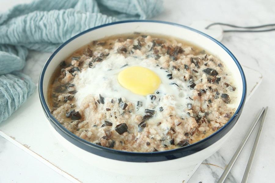 Mềm ngon sần sật món thịt băm hấp trứng nấm - Ảnh 5.