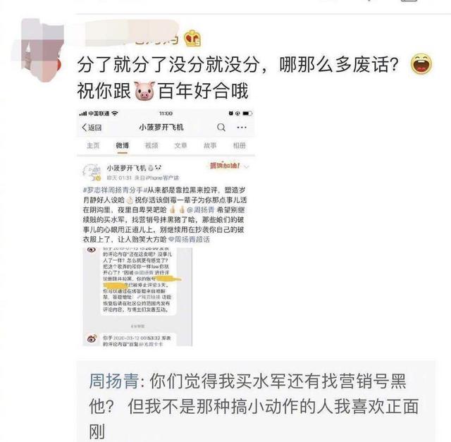 Châu Dương Thanh cũng không kém cạnh khi được cho là mua thủy quân bôi nhọ La Chí Tường.