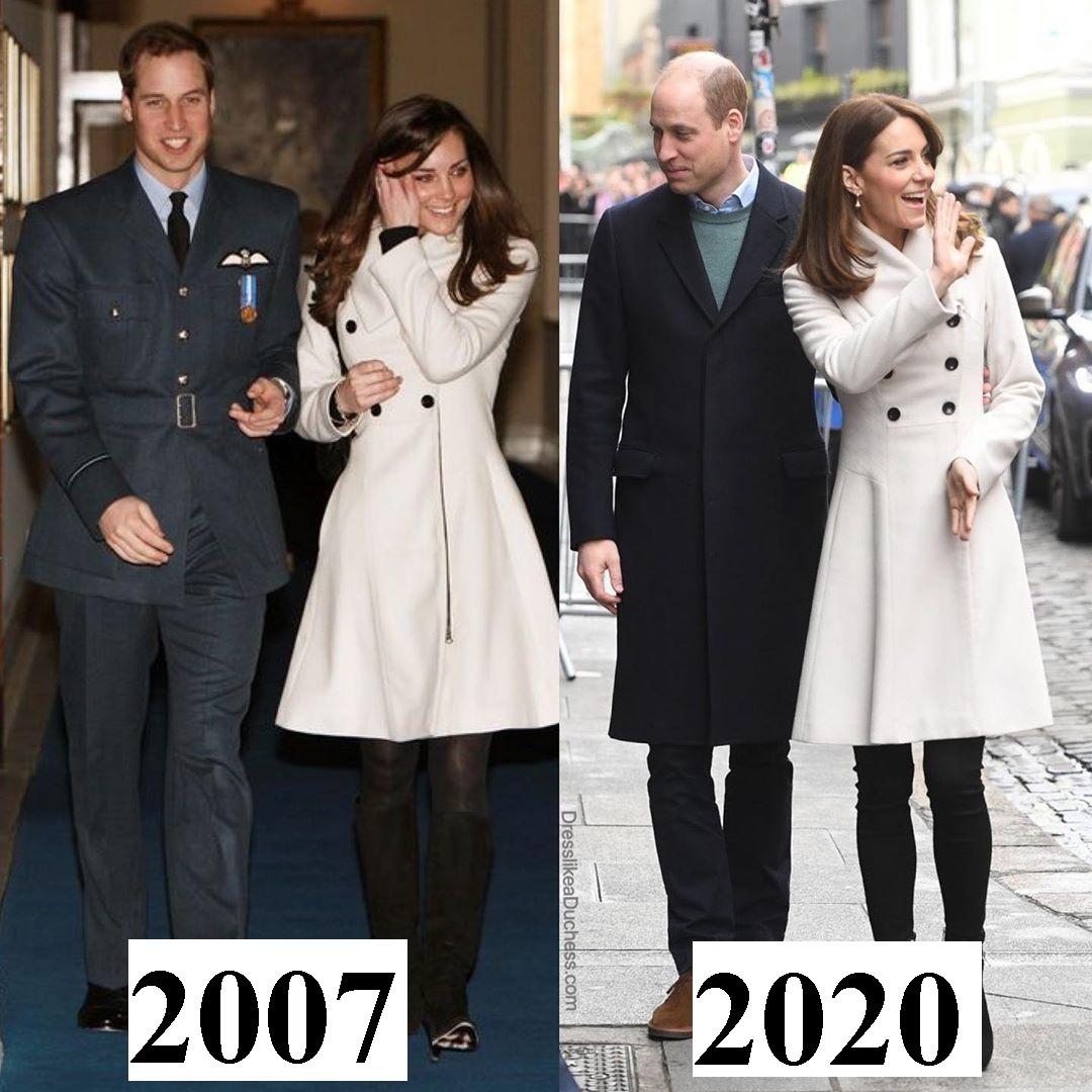 Công nương Kate đúng là mặc đẹp từ trong trứng nước: Nhìn màn diện lại áo cũ 13 năm, đụng hàng với Công chúa Eugeine là rõ - Ảnh 2.
