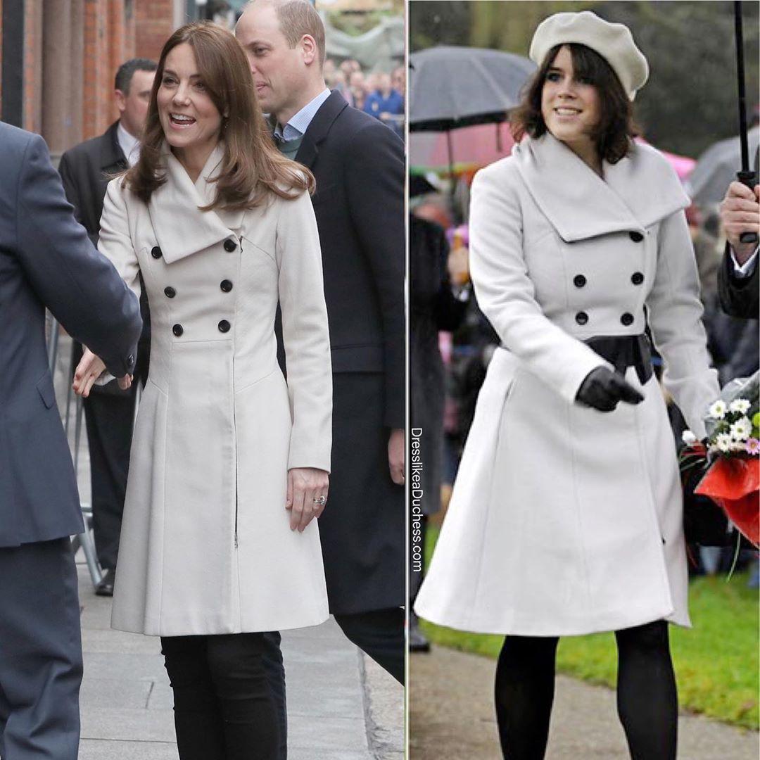 Công nương Kate đúng là mặc đẹp từ trong trứng nước: Nhìn màn diện lại áo cũ 13 năm, đụng hàng với Công chúa Eugeine là rõ - Ảnh 4.