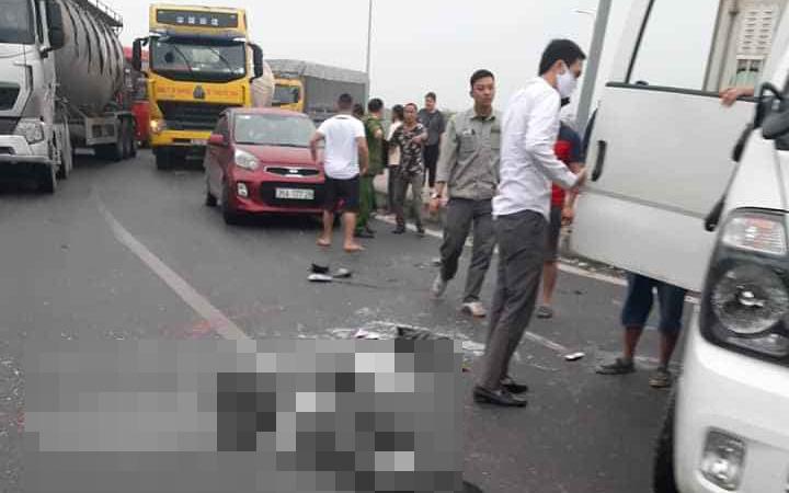 Ninh Bình: Đại úy tử vong khi chở phạm nhân xe bị nổ lốp