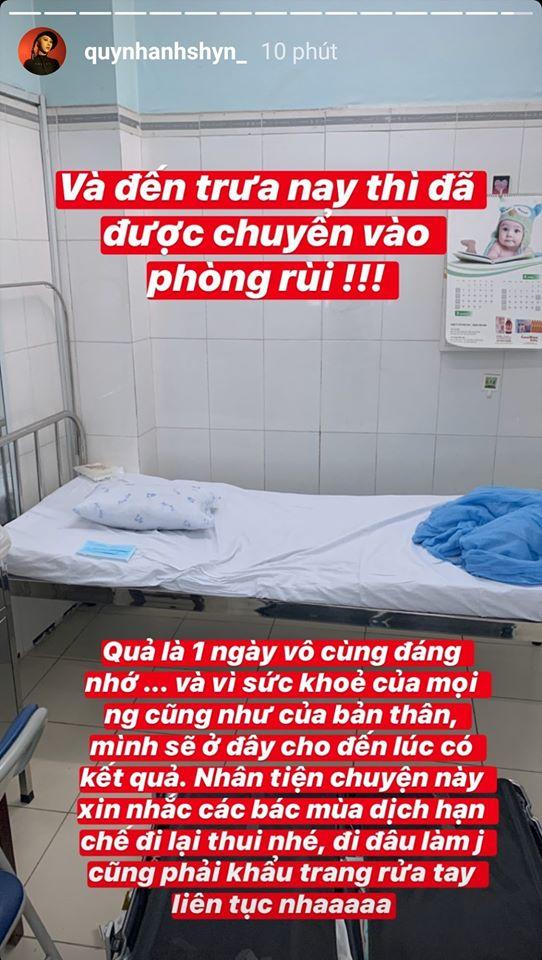 Sau Châu Bùi, Quỳnh Anh Shyn bị cách ly vì bay cùng chuyến với người nghi nhiễm Covid-19 - Ảnh 6.