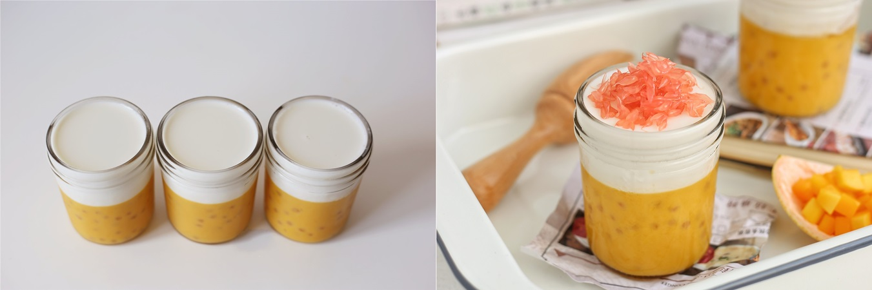 Bổ sung vitamin với pudding xoài 2 lớp ngon đẹp lung linh - Ảnh 4.
