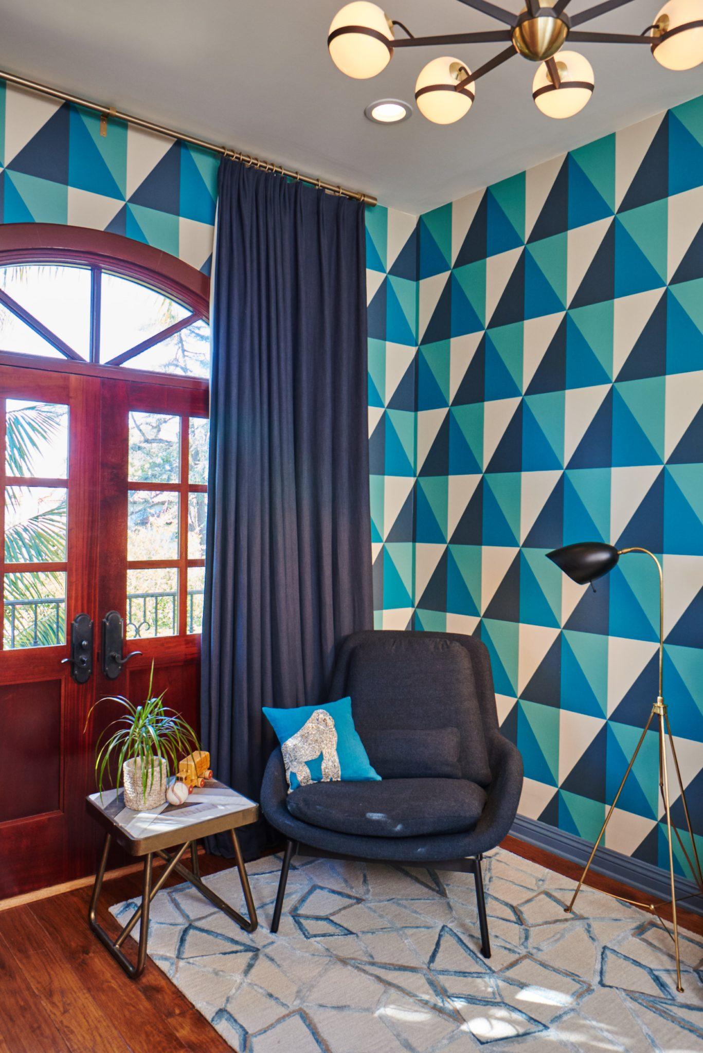 Mãn nhãn với những bộ thảm trải sàn mang họa tiết hình học - Ảnh 5.