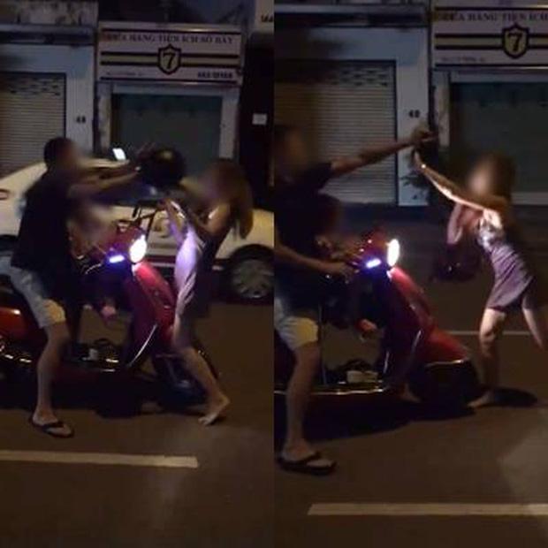 """Xôn xao với clip chồng đánh vợ giữa đường vì """"đi nhậu không xin phép"""" và màn chống trả khiến ai cũng phải tròn mắt - Ảnh 2."""