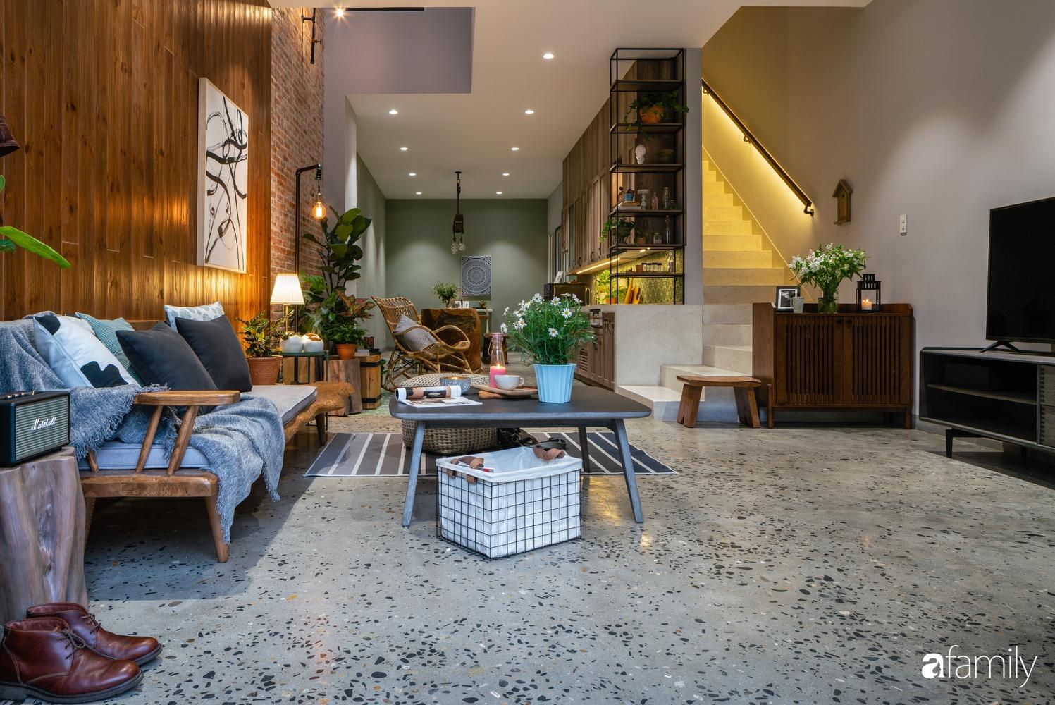 Ngôi nhà có kiến trúc độc đáo giàu tính nghệ thuật đẹp yên bình, mộc mạc giữa trung tâm thành phố Đà Nẵng - Ảnh 6.