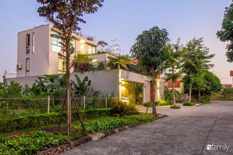 Nhà 3 tầng lấy cảm hứng từ ruộng bậc thang giúp từng góc nhỏ gần hơn với thiên nhiên ở Ninh Bình - Ảnh 1.