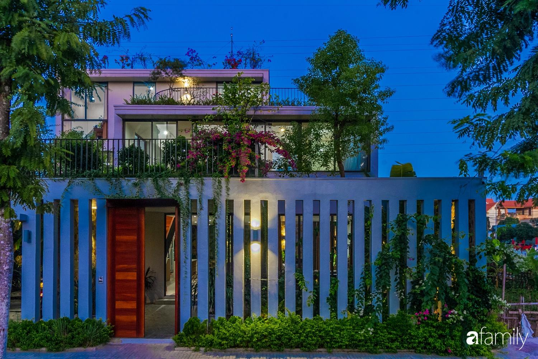 Nhà 3 tầng lấy cảm hứng từ ruộng bậc thang giúp từng góc nhỏ gần hơn với thiên nhiên ở Ninh Bình - Ảnh 2.