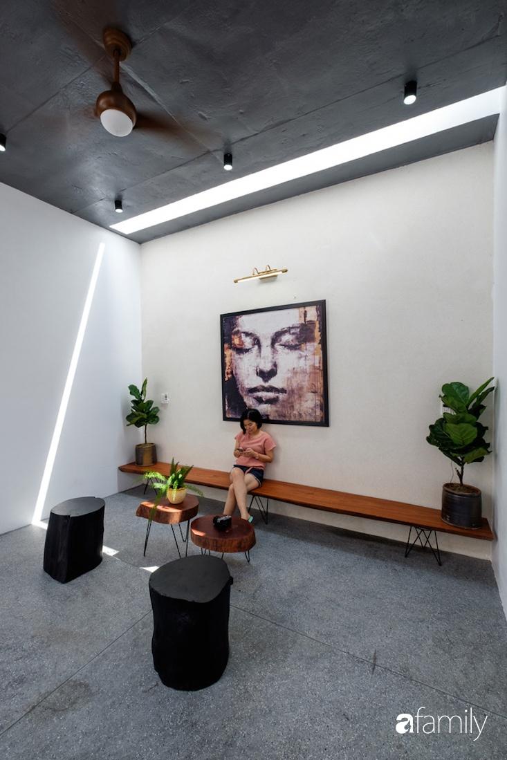 Nhà hướng Tây rộng 160m² đủ ánh sáng và gió trời dù không cần thiết kế nhiều cửa sổ ở Quảng Bình - Ảnh 14.