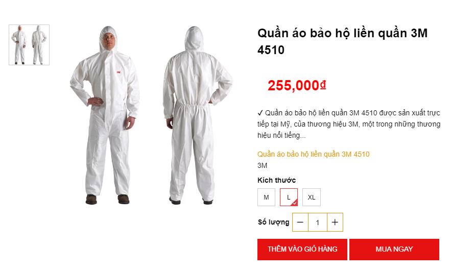 Bộ quần áo phòng chống dịch nhan nhản trên chợ mạng  - Ảnh 4.