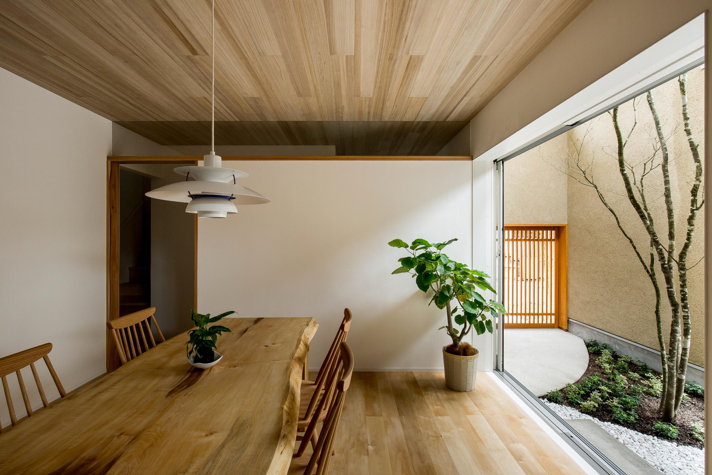 Ngôi nhà có khoảng sân vườn thiết kế nghệ thuật giúp từng góc nhỏ bên trong đều đẹp như tranh vẽ - Ảnh 2.