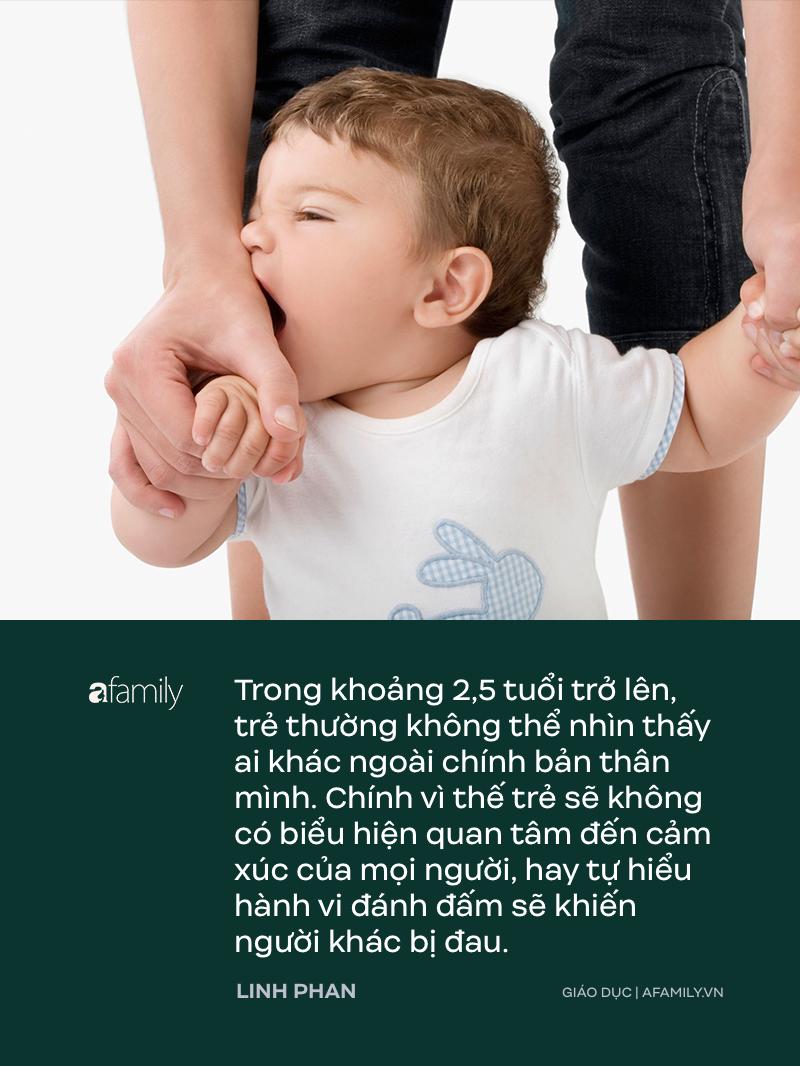 Trẻ 1-3 tuổi rất hay đánh người, parent coach Linh Phan lý giải 9 nguyên nhân của hành vi bạo lực này - Ảnh 1.