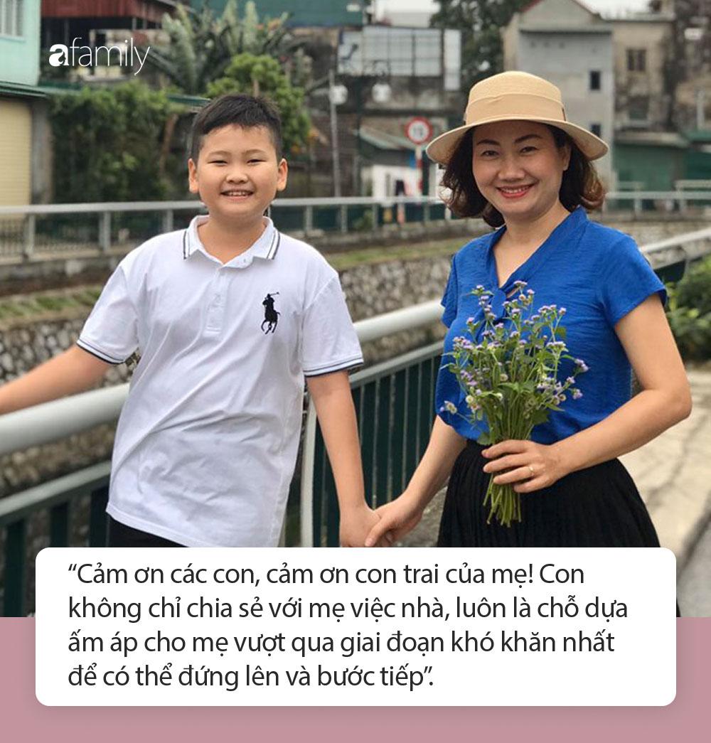 Chuyện xúc động của một người mẹ Nghệ An, đang ngã quỵ vì gặp biến cố cuộc đời bỗng giật mình khi con trai nhìn thẳng vào mắt và nói 1 câu - Ảnh 7.