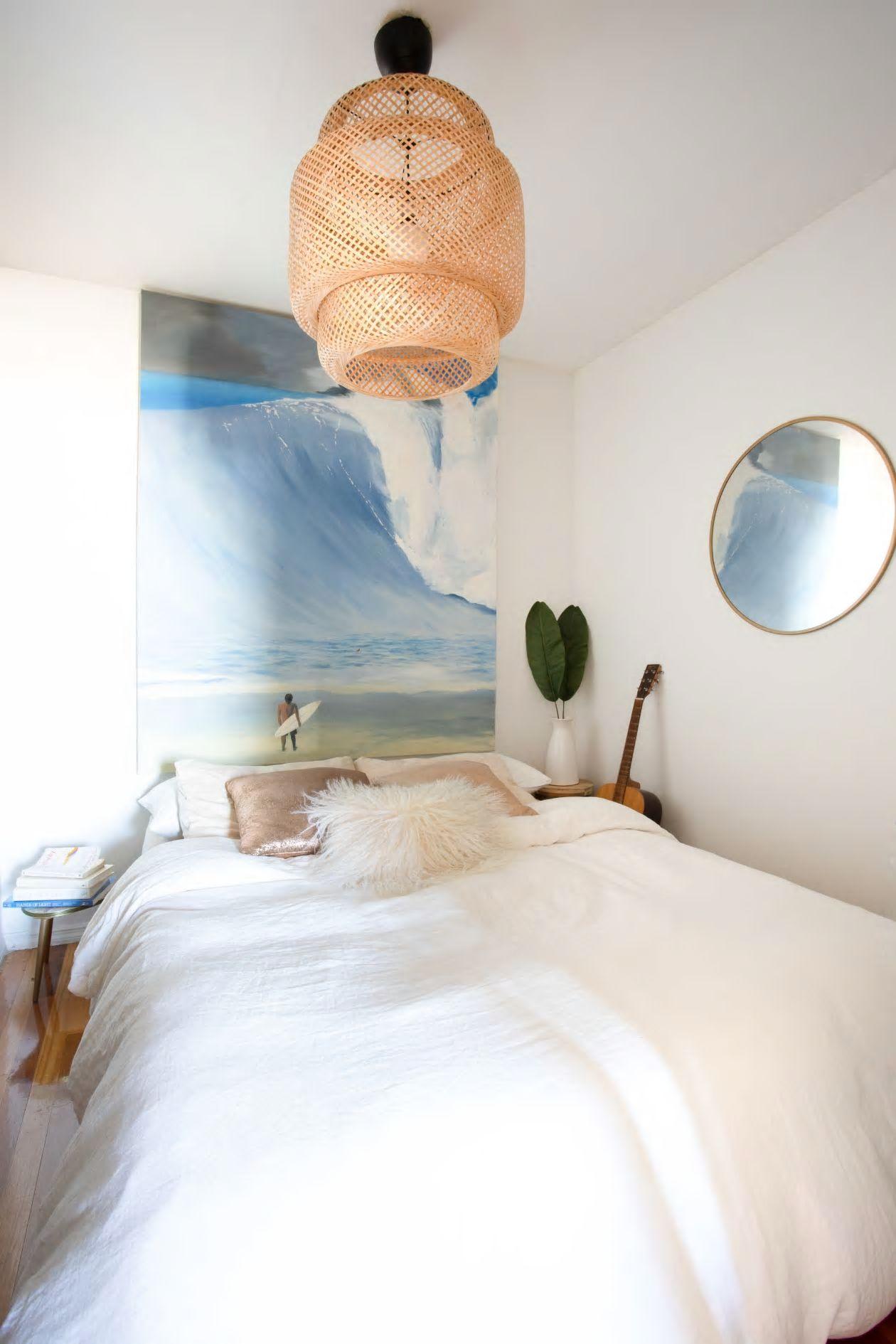 Căn hộ nhỏ 37m2 ở Brooklyn sử dụng những màu sắc đáng kinh ngạc trong trang trí nội thất - Ảnh 4.