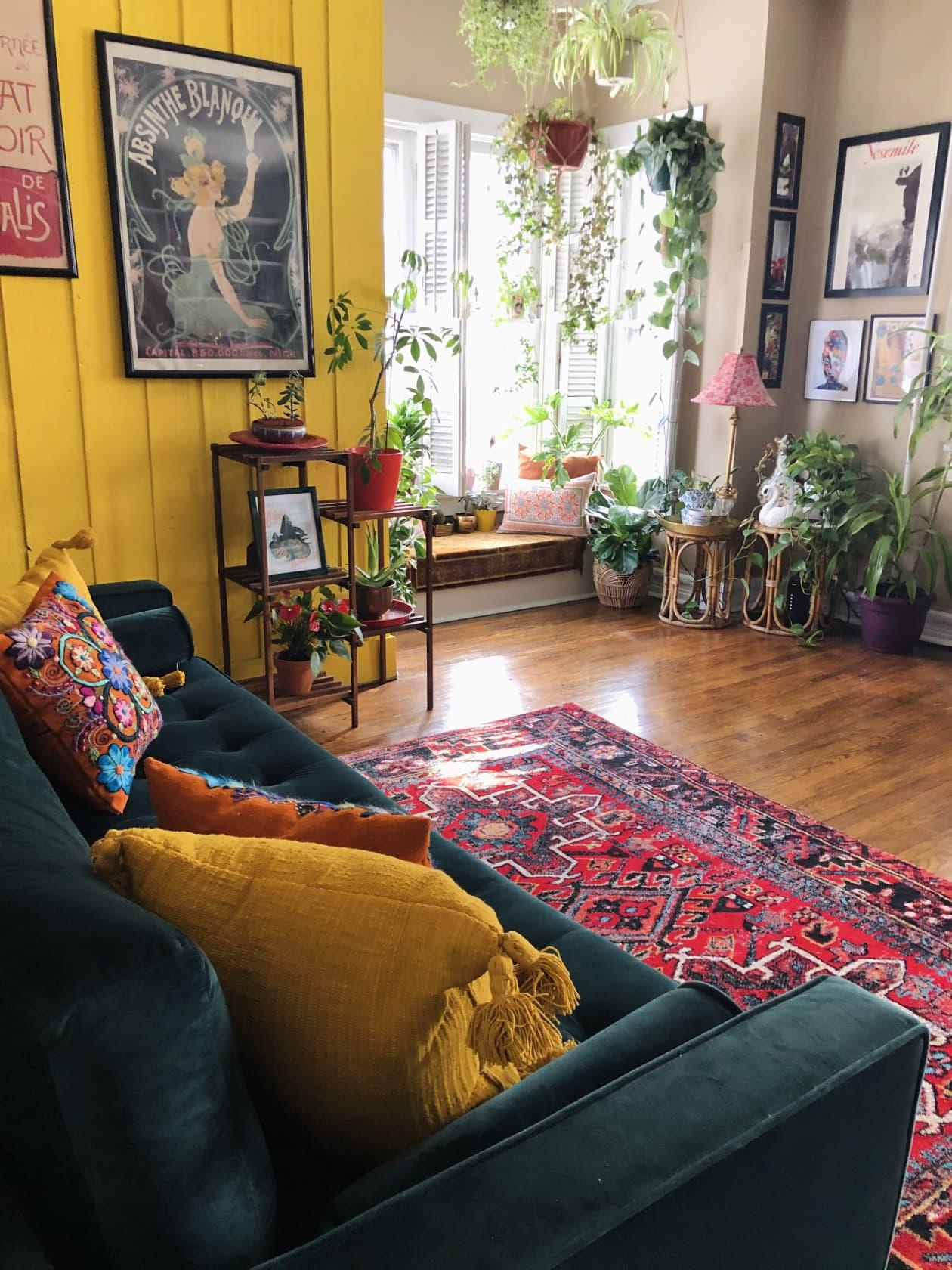 Thiết kế nhà nhỏ 60m2 theo xu hướng sống xanh, phòng khách rộng mênh mông nhờ bí quyết từ những cánh cửa - Ảnh 5.